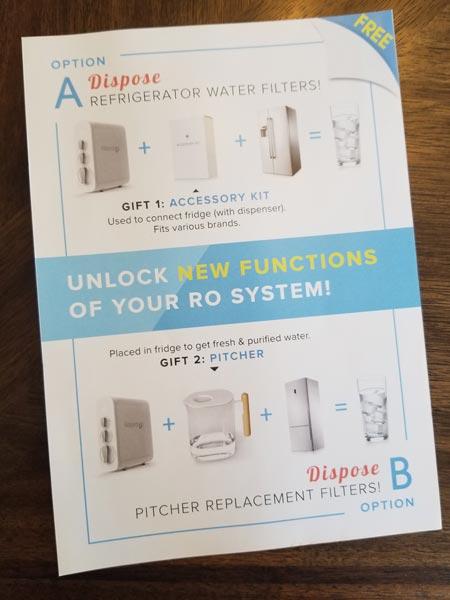 Waterdrop RO Free Gift