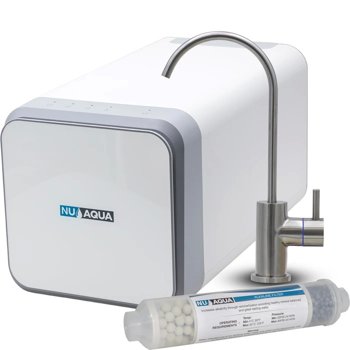 NU Aqua Efficiency Series Tankless 600GPD Alkaline Remineralization Reverse Osmosis System