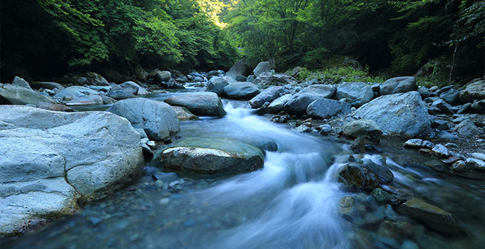 UV to treat natural water sources
